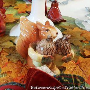 Squirrel Salt Pepper Shakers