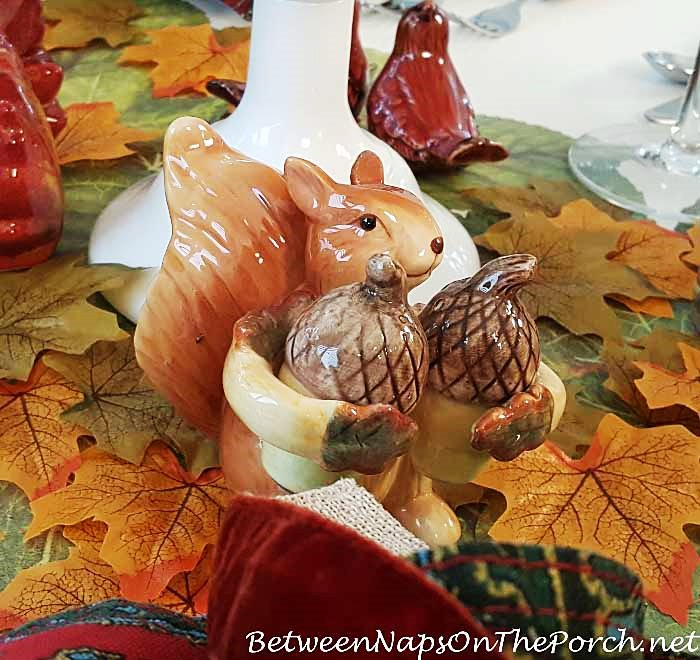 Squirrel Salt Pepper Shakers