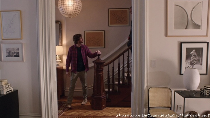Staircase in Jules Home in movie, The Intern