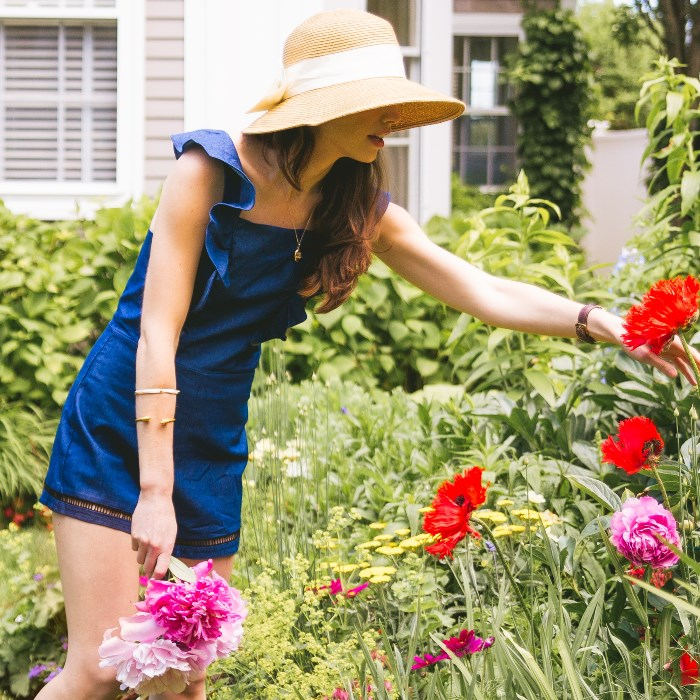 Sunhat with Bow