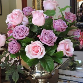Titanic Roses with Lavender Cool Water Roses