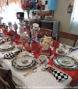 Alice in Wonderland Dinner Party