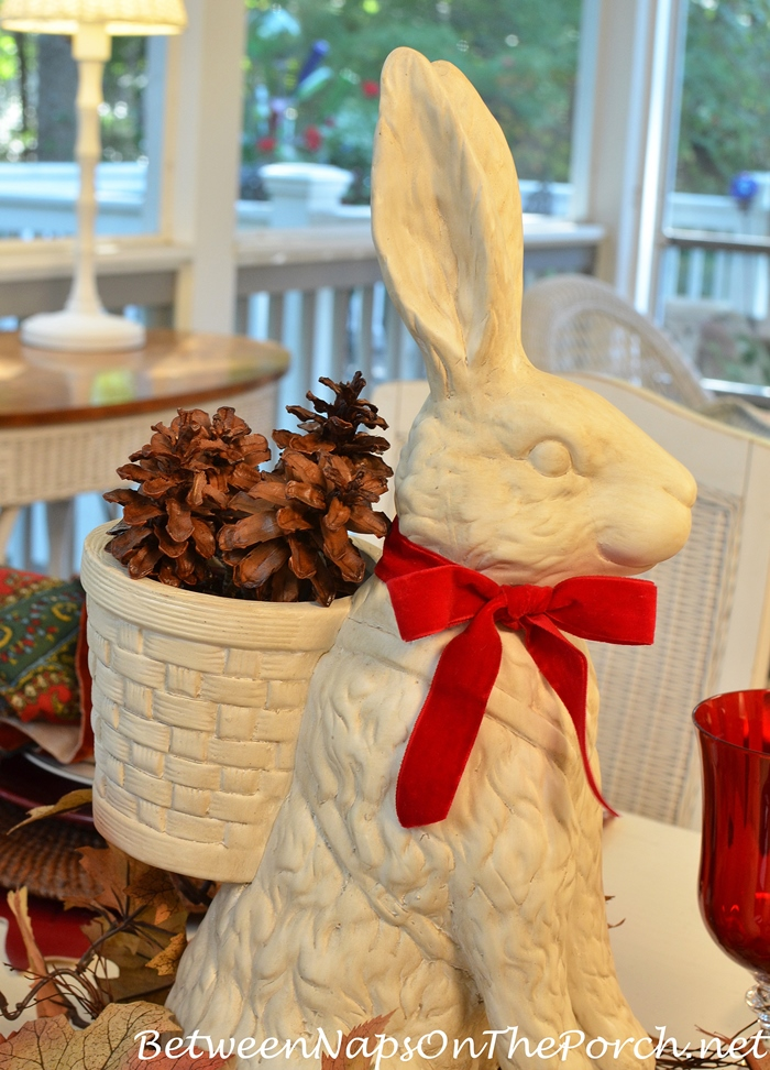 bunny-with-basket-of-pine-cones