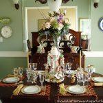Two Beautiful Table Settings & A Brilliant Storage Idea for Napkin Rings
