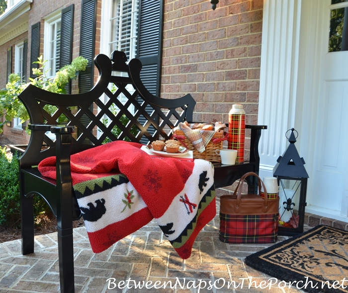 Decorate Porch for Fall