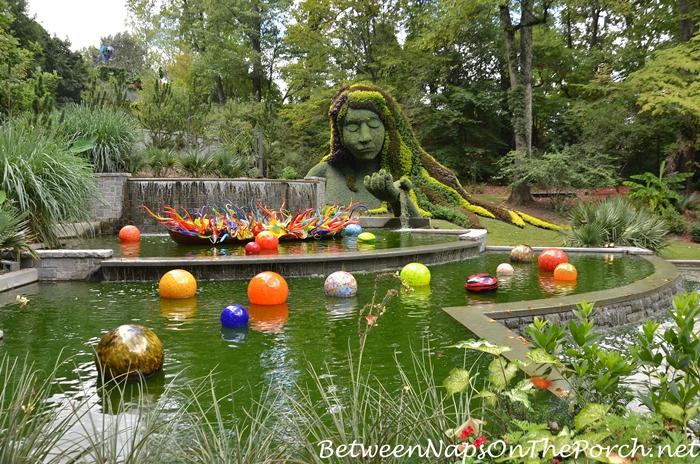 Earth Goddess At Atlanta Botanical Garden