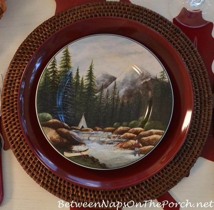 fly-fishing-plate-northwoods-dinnerware