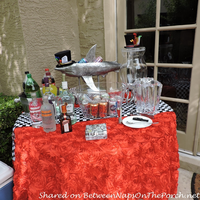 Outdoor Party Table