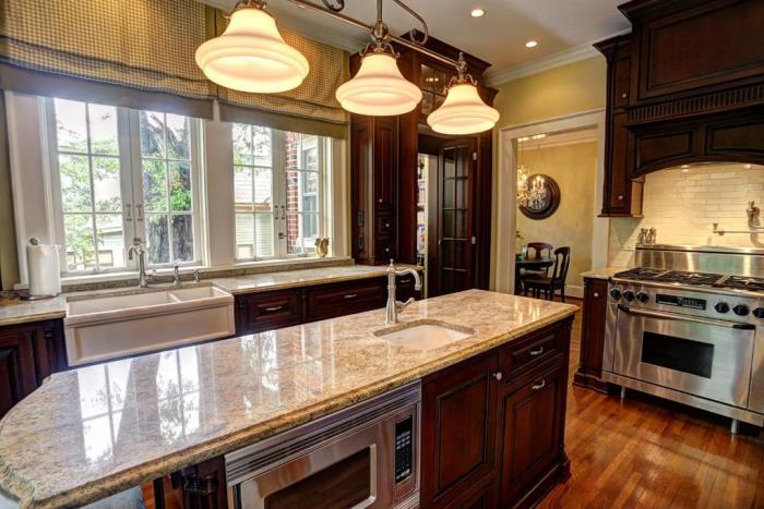 stainless-appliances-farmhouse-sink-traditional-kitchen