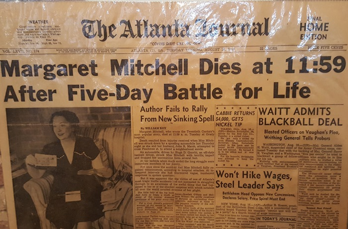 atlanta-journal-article-about-death-of-margaret-mitchell