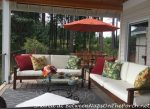 Deck Makeover: A Covered Porch & Room for Dining and Entertaining