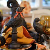 Halloween in Pumpkin Hollow: Whimsical Table Setting