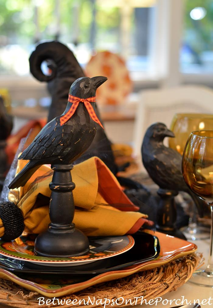 crows-for-a-halloween-table