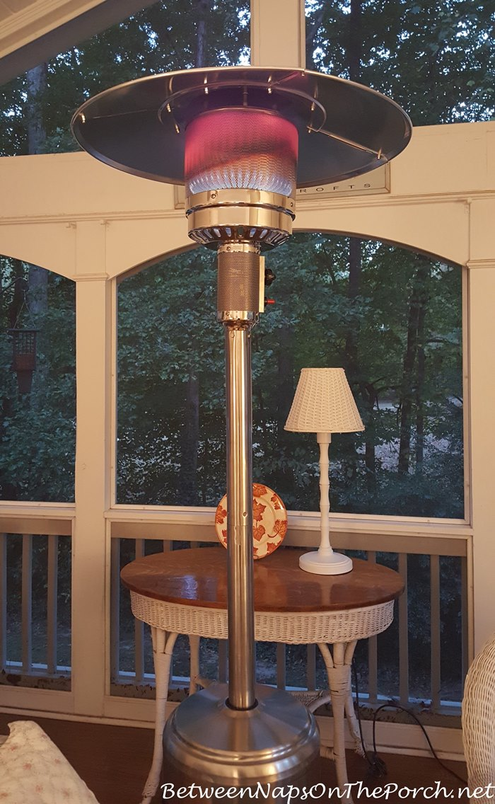 Floor Standing Propane Heater For Outdoor Patios And