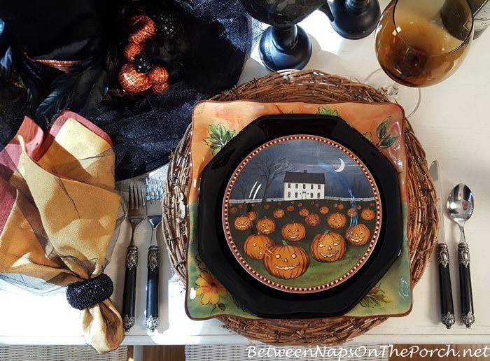 halloween-table-setting-whimsical-david-carter-brown-dishware