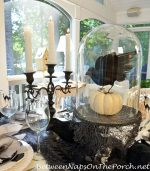 Halloween Table with MacKenzie-Childs Inspired Dishware