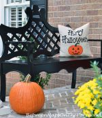 Decorate Your Porch for Autumn & Halloween
