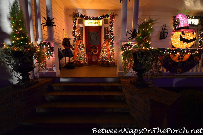 porch-lit-for-halloween-night