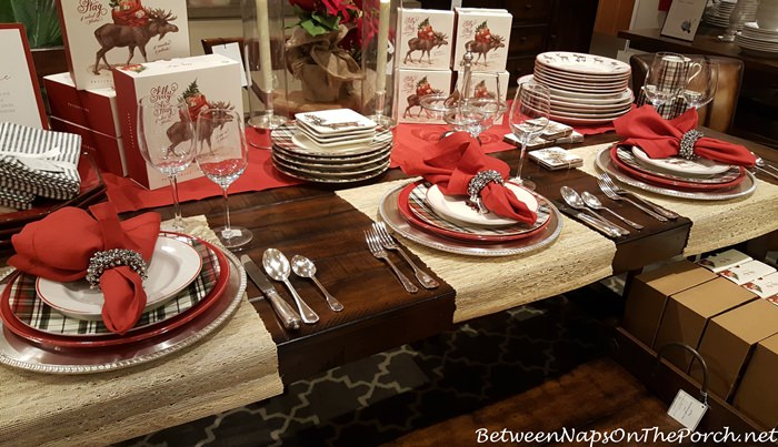 pottery-barn-plaid-christmas-plates