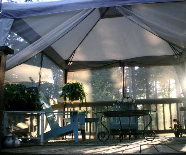 screened-tent & Screen In Your Deck Easily u0026 Inexpensively