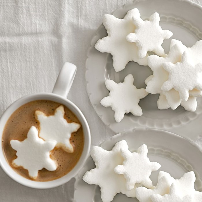 snowflake-marshmallows