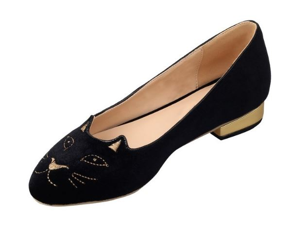velvet-kitty-flats-shoes