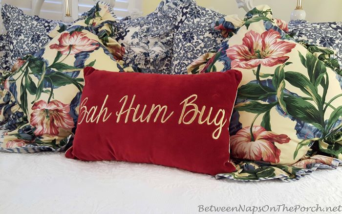 bah-hum-bug-pillow-in-red-velvet
