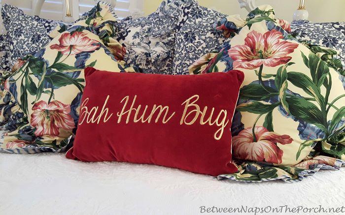 bah-hum-bug-pillow-in-red-velvet
