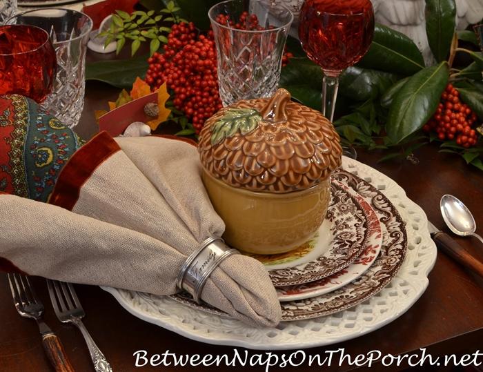family-friends-napkin-rings