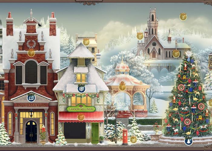 Jacquie Lawson Advent Calendar With Victorian Village 2