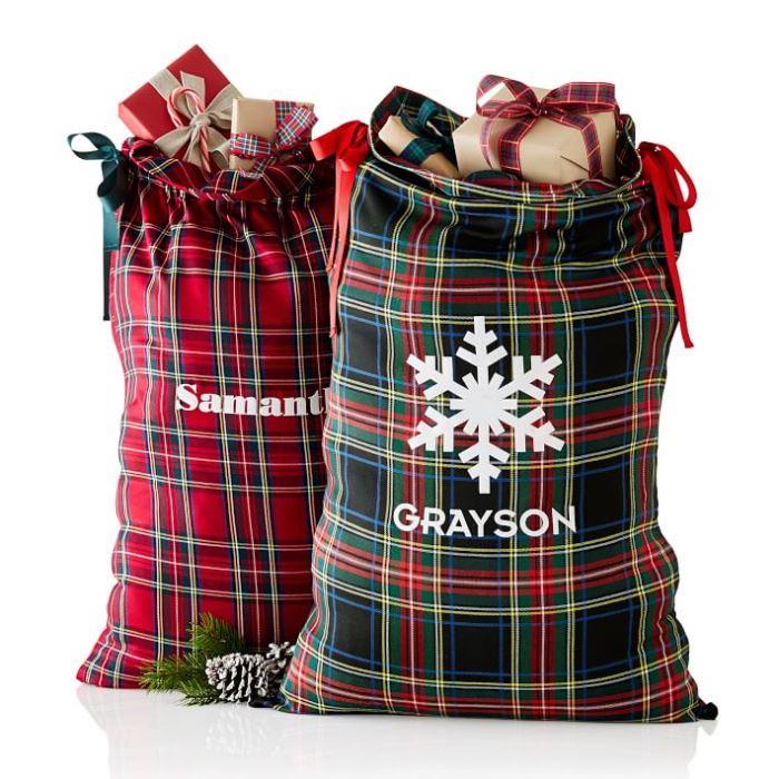 plaid-santa-bags