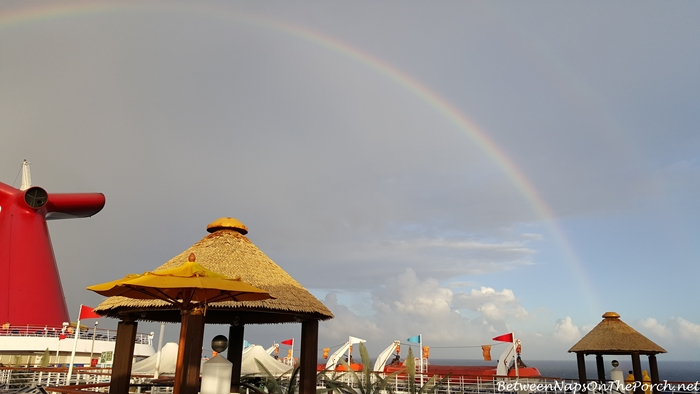 Single Rainbow Became a Double Rainbow