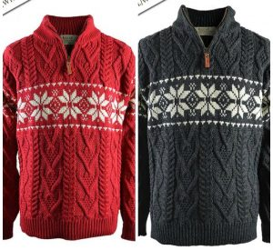 snowflake-sweater-for-men