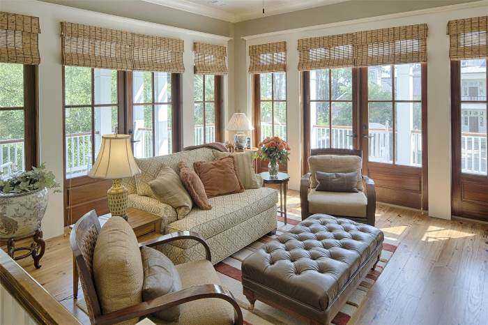 sunroom-with-woven-wood-shades