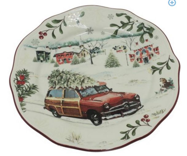 woody-car-christmas-plate