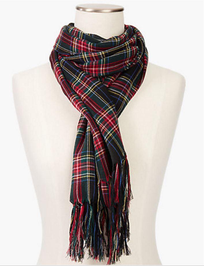 wool-plaid-scarf