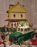 Bringing Home the Tree: Christmas Table Setting