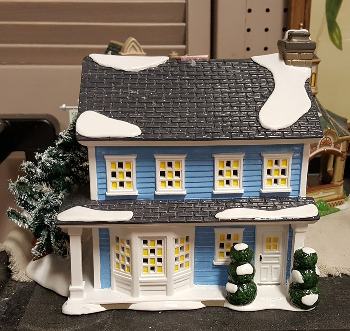 Margo & Todd's House, Dept. 56 Christmas Vacation