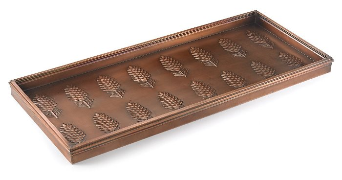 Organize And Keep Your Entry Tidy With A Stylish Boot Tray Between Mesmerizing Decorative Boot Tray