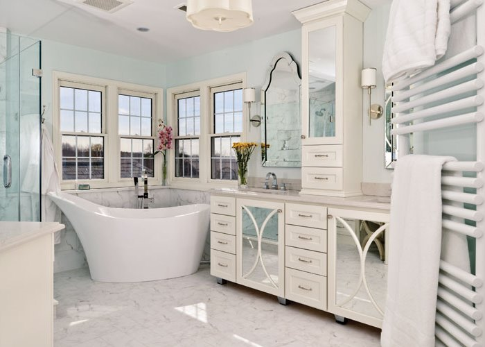 Unique Photo from Bethesda Magazine here bethesdamagazine Bethesda Magazine January February Beautiful Bathrooms Bathroom Design is by Case Design