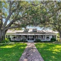 Tour Two Historical Homes & Guest Cottage: Beautiful Estate located on the Mobile Bay