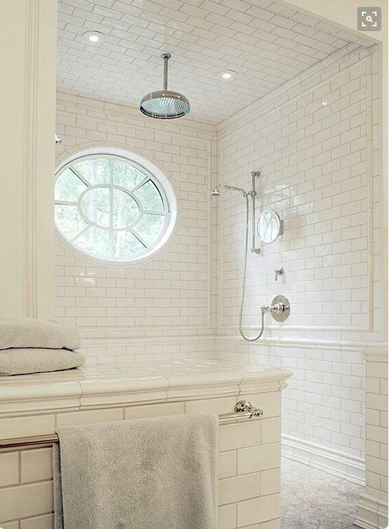 No tub for the master bath good idea or regrettable trend for Master bathroom no door