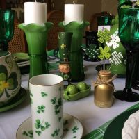 A Festive St. Patrick's Day Table Setting