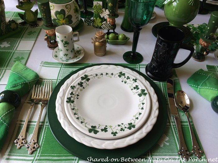 A Festive St Patrick S Day Table Setting