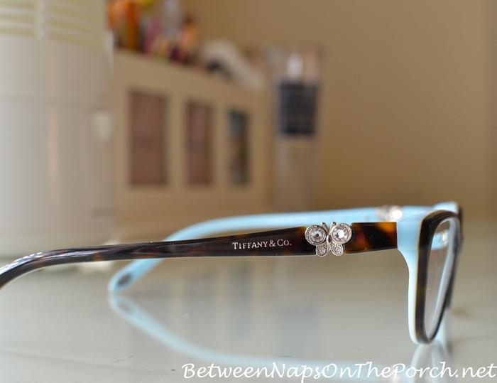 A New Travel Handbag and Tiffany Butterfly Eye Glasses