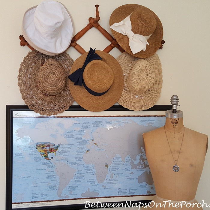 67d29eae1 Hat Storage That's Both Functional and Decorative – Between Naps on ...