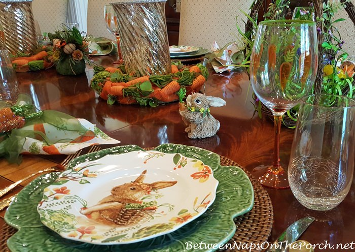 These adorable bunny salad plates were a find this year and you\u0027ll find them on sale here Bunny Plates and here Bunny Plates. & Whimsical Ideas for Spring Tablescapes