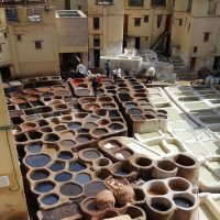 Morocco & Two Fascinating Tours: Fossil Tables & Beautiful Leather Jackets