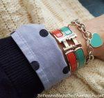 Summer Scarf Pairings and Hermes Clic H Bracelets