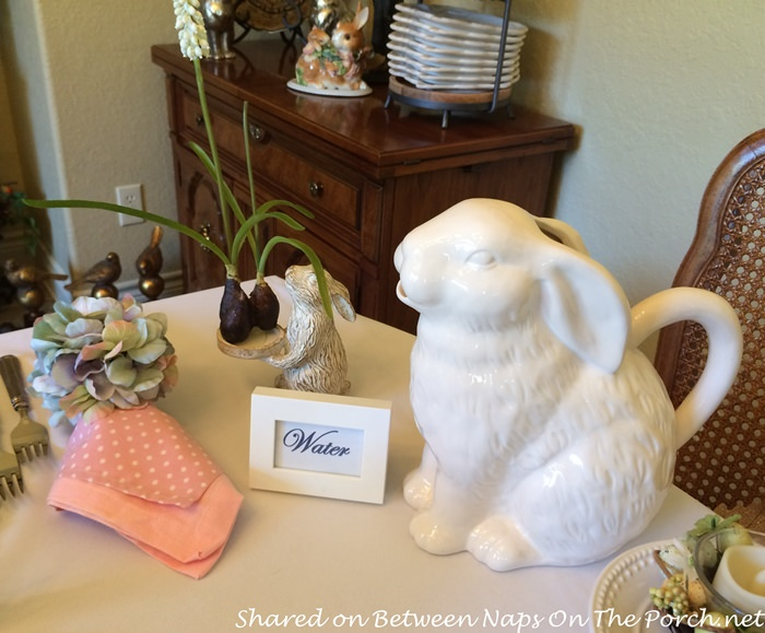 Hopping Into Spring With A Beautiful Spring Easter Table